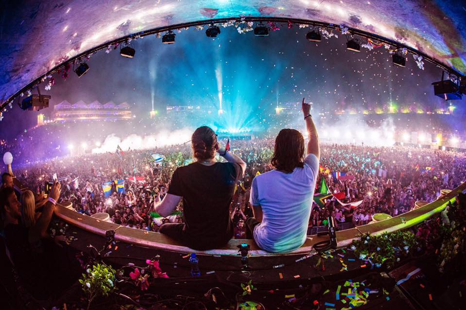 Dimitri Vegas , Like Mike, Tomorrowland