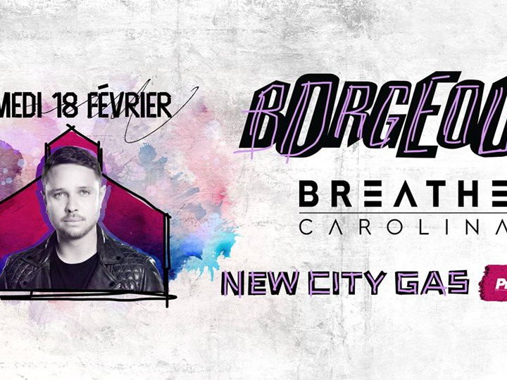 Borgeous at New City Gas