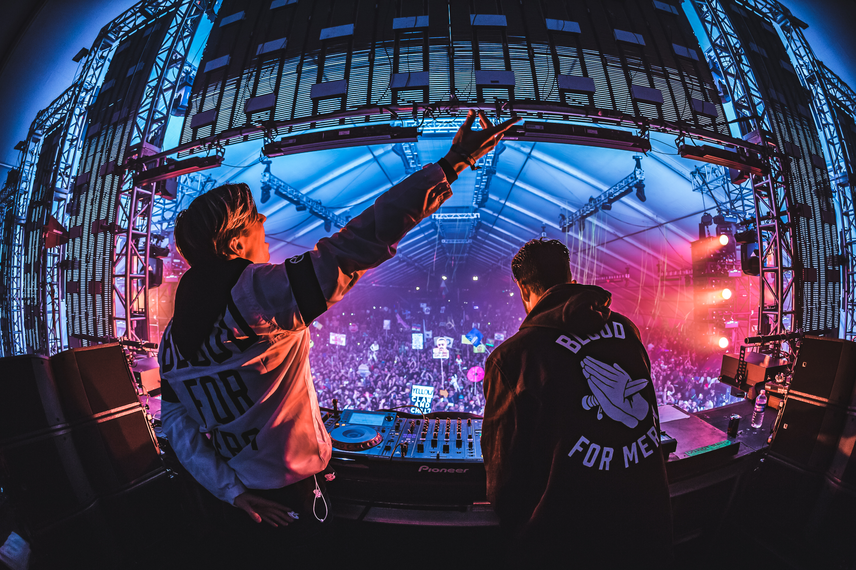 Yellow Claw On Stage